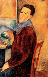 Autoritratto, Amedeo Modigliani