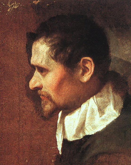 Annibale Carracci autoritratto